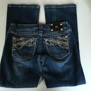 Miss Me Easy Bootcut Jeans Size 25 Inseam 29